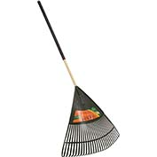 "Union Tools 64171 30"" Poly Leaf Rake W/ Cushion Grip"