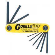"Bondhus 3/16-3/8"" 5 Pc. GorillaGrip Fold-Up Set"