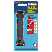 "Eklind 5/64-1/4"" 9Pc. Ball End Fold Up SAE Hex Key Set"
