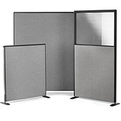 "SpaceMax Freestanding Panel - 66x36"" with Partial Plexigas Pane"
