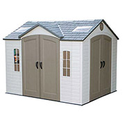Dual Entry Storage Shed, 8' x 10'