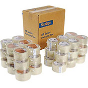 Carton Sealing Tape, 48mm x 50m, 1.9 Mil, Clear - Pkg Qty 36
