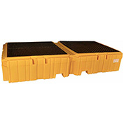 UltraTech 1144 Ultra-Twin IBC Spill Pallet with Drain