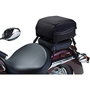 MotoGear Extreme Motorcycle Tail Bag, Black