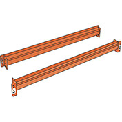 STEEL KING Solid Beams for Boltless Pallet Racks - 144x6""