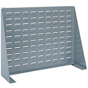 Akro-Mils Louvered Bench Rack, 27-15/16 x 8-9/16 X 19-9/16, Grey