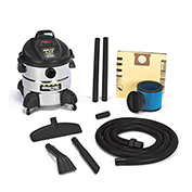 Shop-Vac® Wet Dry Vacuum, 8 Gallon Stainless Steel 5.5 Peak HP