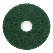 "13"" Green Scrubbing Pad, 5/Case"