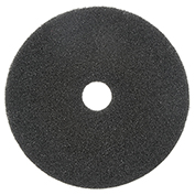 "17"" Black Stripping Pad, 5/Case"