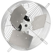 "TPI 10"" Guard Mounted Direct Drive Exhaust Fan, 1/12HP"