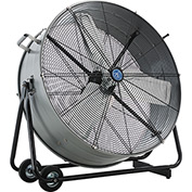 "36"" Portable Tilt Drum Blower Fan, Direct Drive"