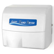 Palmer Fixture HD907WH Hands Free Aluminum Auto Hand Dryer, 120V, White