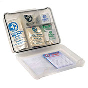 120 Pieces Multi-Purpose First Aid Kit, Plastic Case