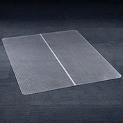 "Chair Mat for Carpet, 46""W x 60""L, Straight Edge"