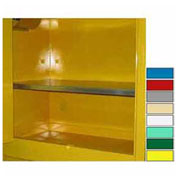 "Extra Shelf for Lab Cabinets 59"" Wide Yellow"