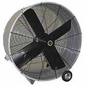 "Airmaster Fan 60019 48"" Portable Belt Drive Mancooler® 1 HP 17173 CFM"
