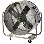"Airmaster Fan 60026 48"" Belt Drive Swivel Mount Mancooler® 1 HP 17730 CFM"