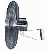 "Airmaster Fan 70835 24"" Washdown Wall Mount Fan 1/4 HP 5220 CFM"