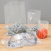 "Open-Top Poly Bags - 6x10"" - 2 Mil - Case of 1000"