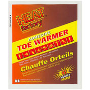 Heat Factory Toe Warmers, One Size, 40 Pairs/Box - Pkg Qty 40