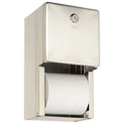 Bobrick® B2888, ClassicSeries™ Surface Mounted Multi-Roll Tissue Dispenser