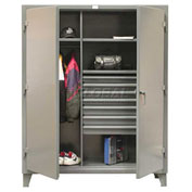 Strong Hold® Heavy Duty Combination Cabinet 46-W-243-7DB - With 7 Drawers 48 x 24 x 78