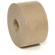 Fiberglass Reinforced Water Activated Tape, 70mm x 375', 5 Mil, Tan - Pkg Qty 8