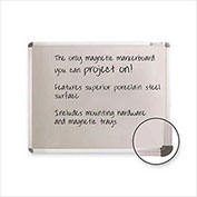 Balt Projection Plus Markerboard, Gray, 96 x 48