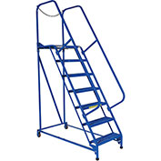 RELIUS SOLUTIONS Mobile Maintenance Ladders - 7 Steps