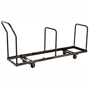 Chair Cart for Folding Chairs 35 Chair Capacity, Vertical Stack
