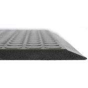 Ergomat Basic Smooth Anti-Fatigue Mat, 4' X 5', Anthracite