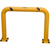 "High Profile Machinery Guards, Yellow Powder Coat, 36""H x 48-5/8""W"
