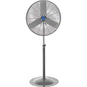 "30"" Non-Oscillating Pedestal Fan, 1/2HP, 9,850CFM"