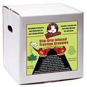 Bare Ground SLGP-15 Slip Grip Infused Traction Granules - 15 Lb. Box
