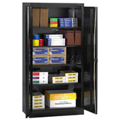 "Tennsco Standard Storage Cabinet, 36""W X 18""D X 72""H, Black"