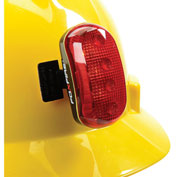 Hard Hat Safety Light, ERB Safety, Red
