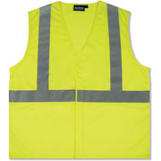 Aware Wear® ANSI Class 2 Economy Mesh Vest, Lime, Size L