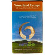 Earth Kind All-Natural Air Purifier/Freshener, Wood Escape Scent, 12/Case