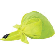 Ergodyne® Chill-Its® Evaporative Cooling Triangle Hat w/Cooling Towel, Lime