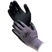 Nitrile Coated Knit Nylon Gloves, Medium, 12 Pairs