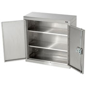 "Wall Cabinet, Stainless Steel, 30""W x 12""D x 30""H"