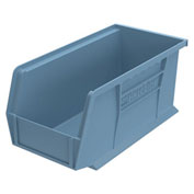"Akro-Mils Plastic Stacking Bin 30230, 5-1/2""W X 10-7/8""D X 5""H, Light Blue - Pkg Qty 12"
