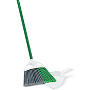 "Libman Commercial 206 Precision Angle Broom & 10"" Dustpan - Pkg Qty 4"