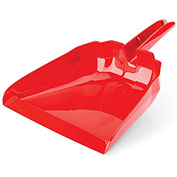 """Libman Commercial 911 13"""" Dust Pan - Red - Pkg Qty 6"""