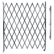 "Single Folding Gate, 9'W to 10'W and 7'6""H"