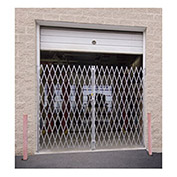 Double Folding Gate, 10'W to 12'W and 7'H