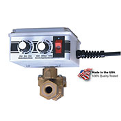 """Electronic Tank Drain, 1/4"""" NPT, 200 PSI, 1-Phase 115V, 4 GPM Discharge"""