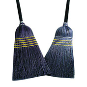 28#  Janitor Broom, Corn/Blend