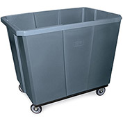 Bayhead Products 6 Bushel Poly Box Truck, Gray