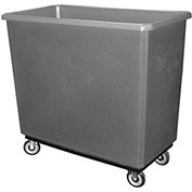 Bayhead Products Gray Poly Box Truck 17 Bushel Capacity